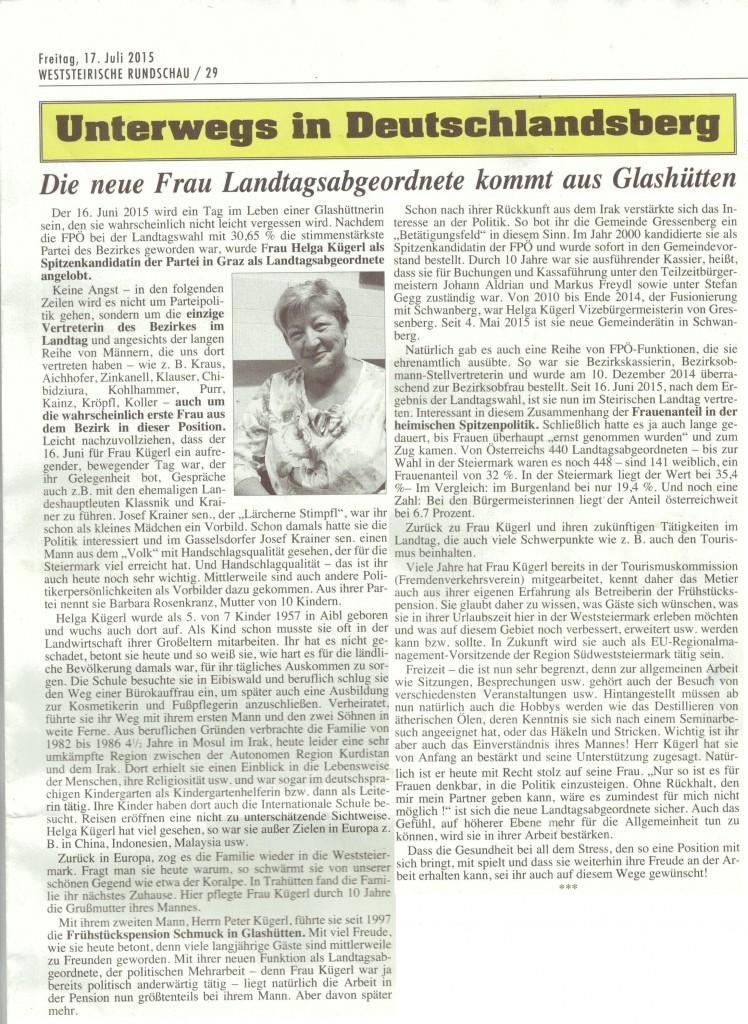 WR Helga Kügerl