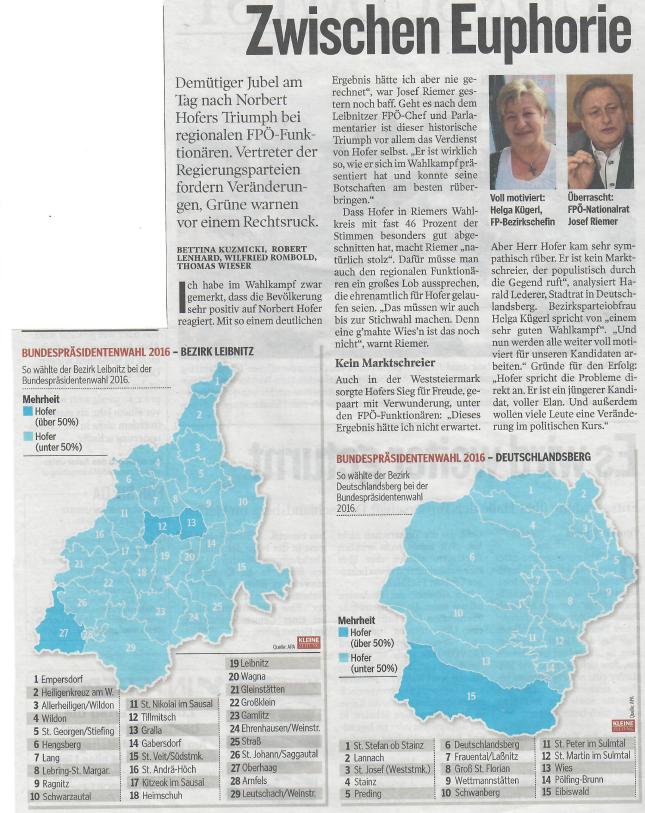 Artikel BPW Kleine Zeitung