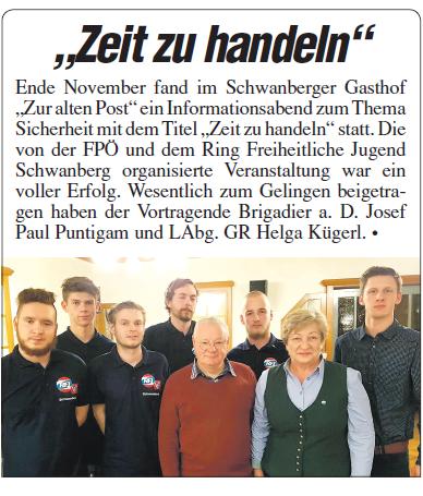 Sicherheitsseminar Schwanberg
